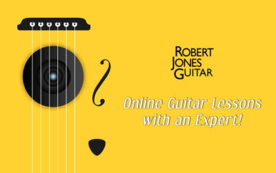 Online Guitar Lessons with an Expert!
